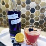 fizzy blueberry sour
