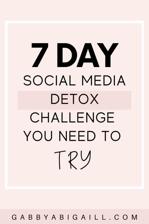 7 day social media detox challenge you need to try