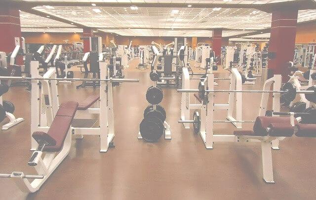 Inside of a gym