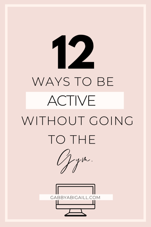 12 ways to be active without going to the gym