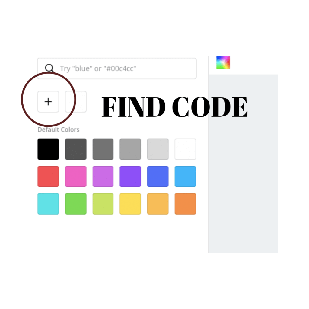 Find Canva Code