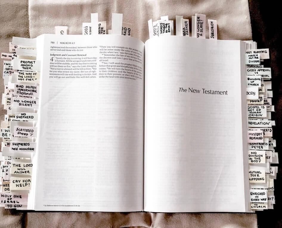 NIV Bible With Tabs