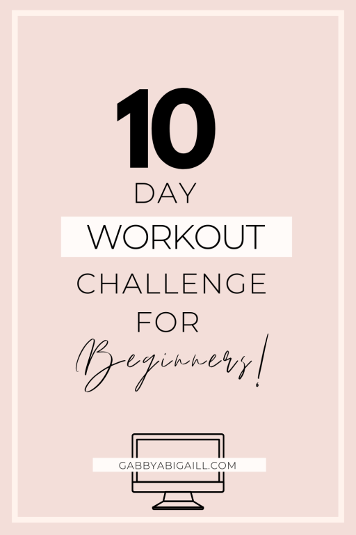 10 day workout challenge for beginners