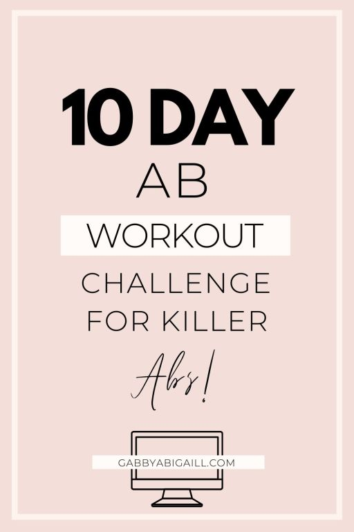 10 day ab workout challenge for killer abs