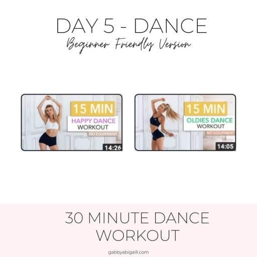 day 5 dance beginner friendly