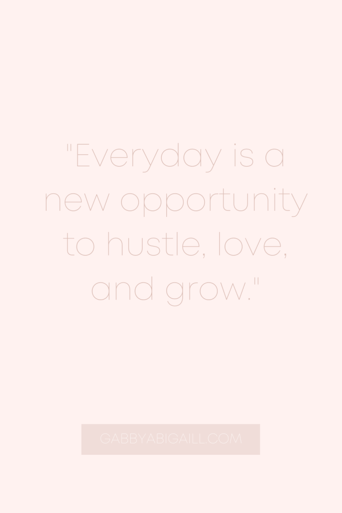 everyday is a new opportunity quote