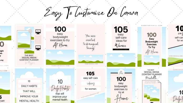 customize templates on canva