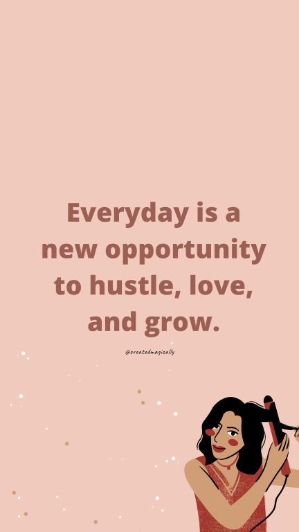 everyday is a new opportunity wallpaper