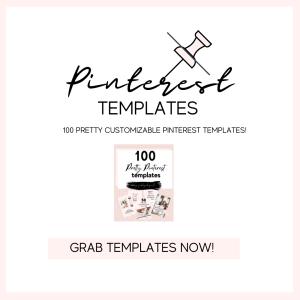 100 pinterest templates
