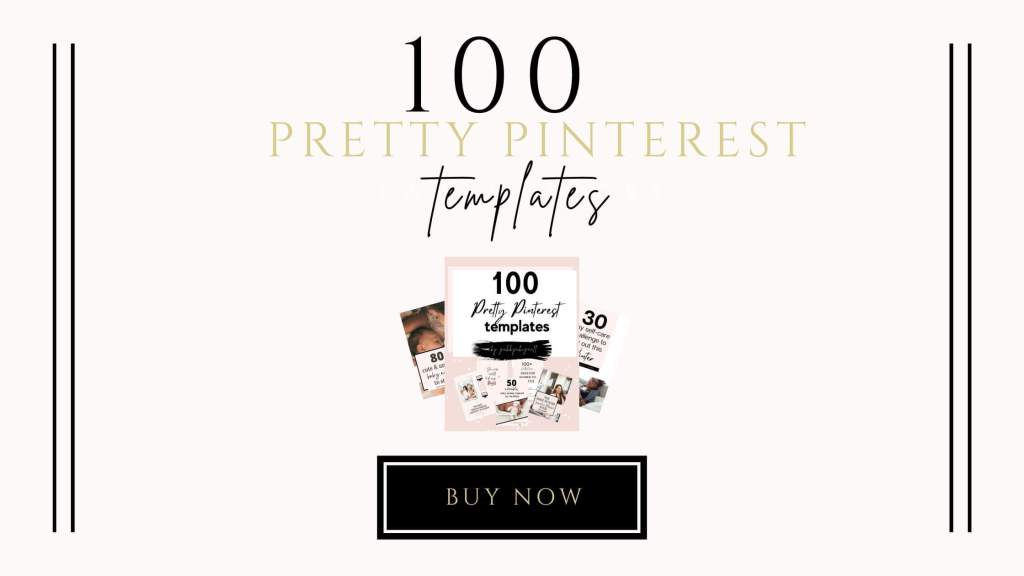 100 pretty pinterest templates
