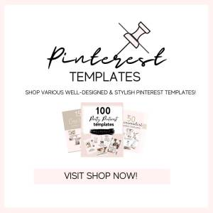 Pinterest templates shop