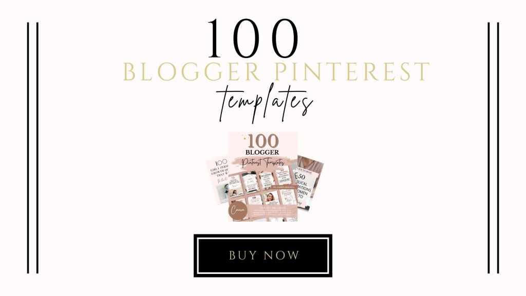 100 blogger pinterest templates shop icon