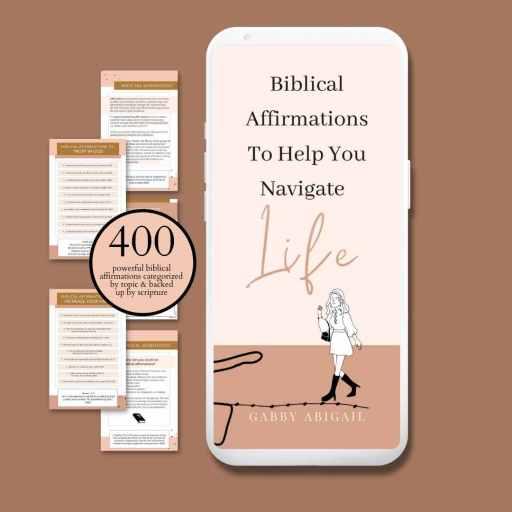 biblical affirmations ebook ad