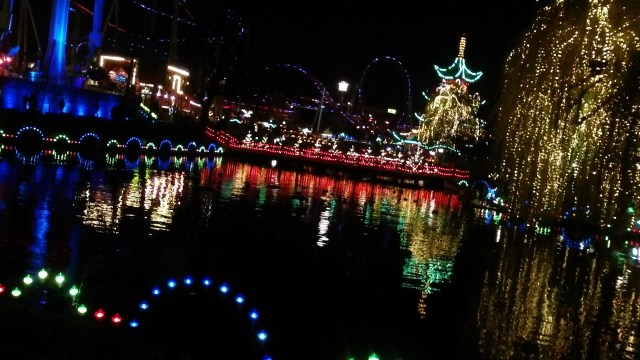 tivoli garden views travel copenhagen denmark