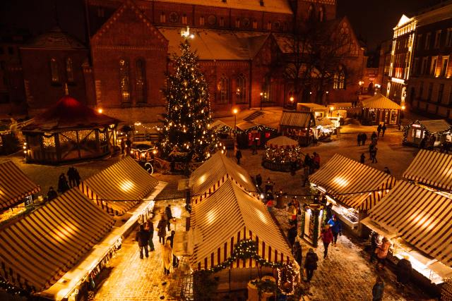how to spend a weekend in riga-christmas-markets