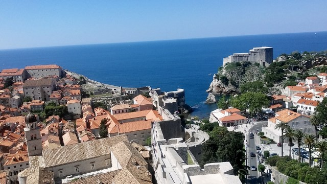 city walls dubrovnik best places to visit in Croatia