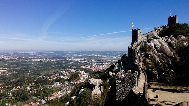 travel hacks for europe, budget travel tips, Portugal workaway sintra castles