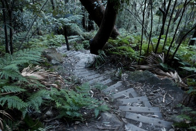 travel in Australia, hiking sublime point lookout trail