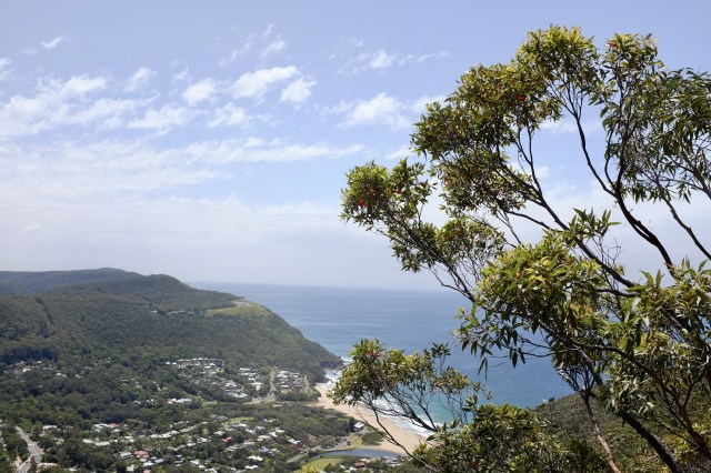 stanwell park grand pacific drive new South Wales Australia travel
