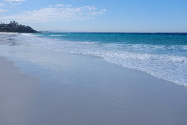 Jervis bay, white sand, new South Wales, travel in Australia hyams beach
