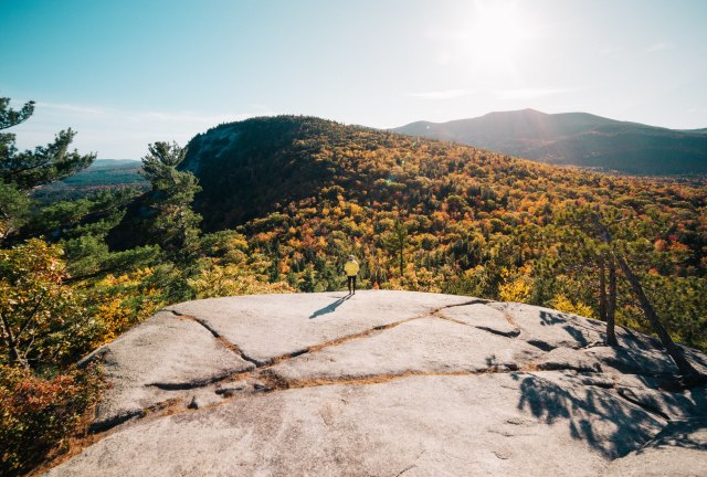 hiking things to do in New England in the summer