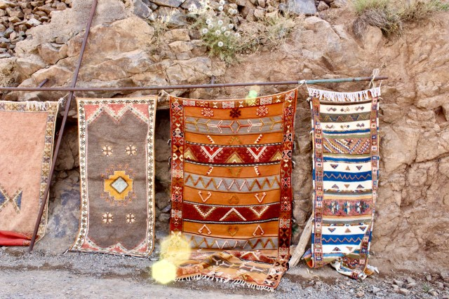rugs imlil Morocco budget travel guide