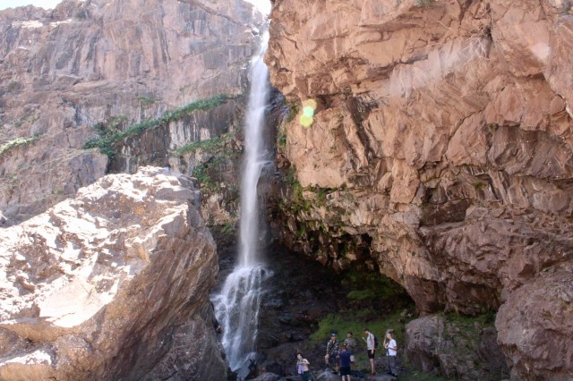 waterfall imlil Morocco budget travel guide