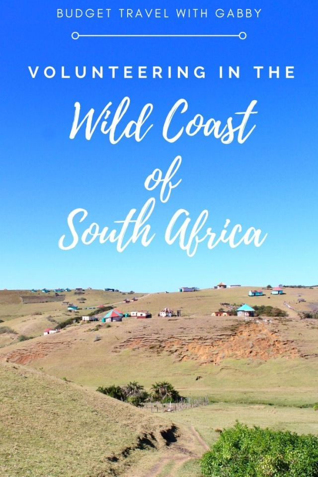 volunteering in the wild coast of south africa