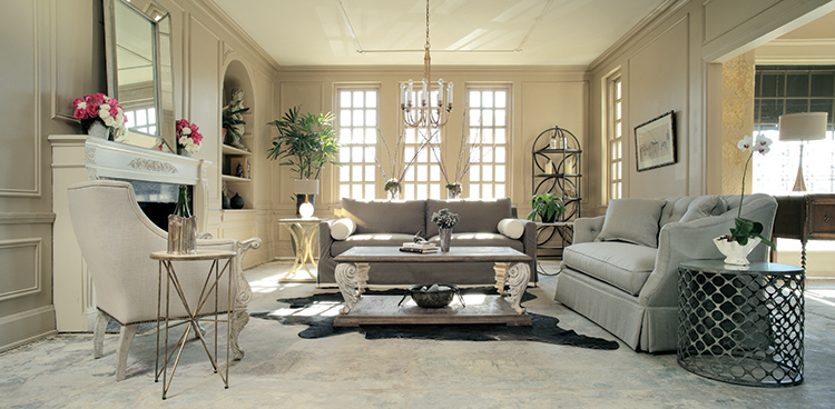 How to Master Transitional Style  Traditional   Contemporary Gabby transitional room