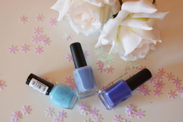 Esmaltes azules