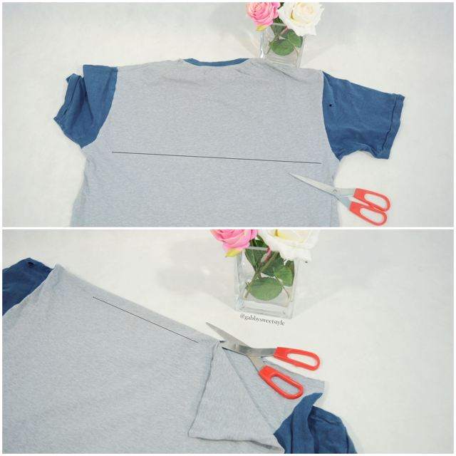 DIY Fular de flecos 2