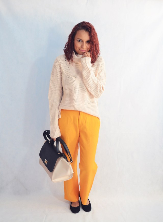 Combina pantalones naranja 5