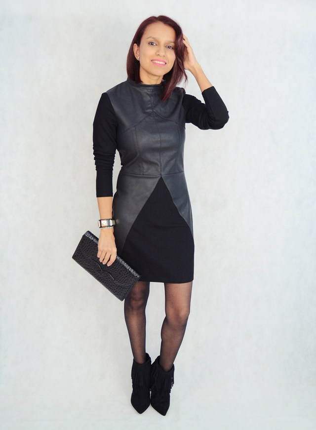 Look con vestido y flecos 6