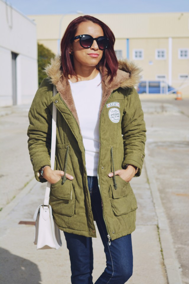 Look casual con parka 10