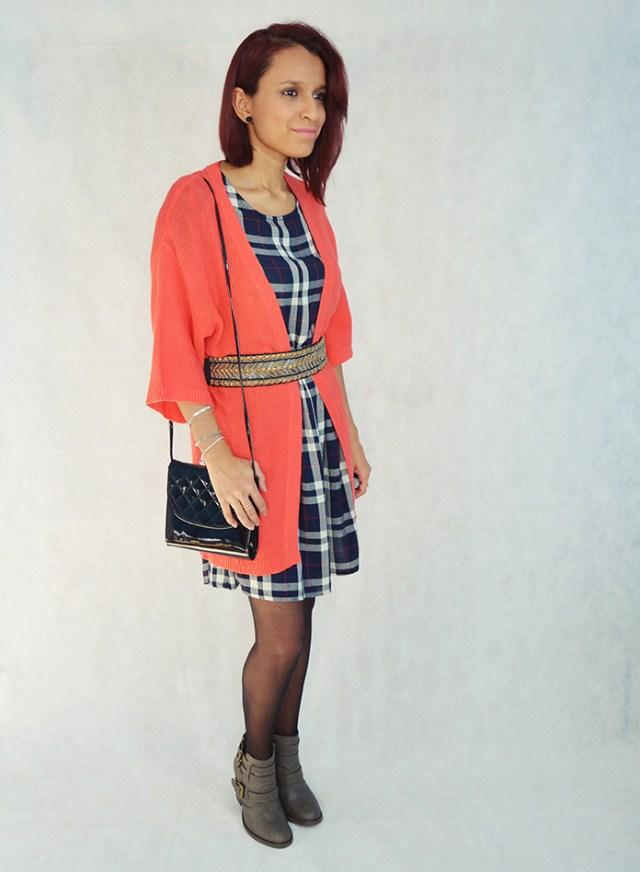 Vestido de cuadros  2