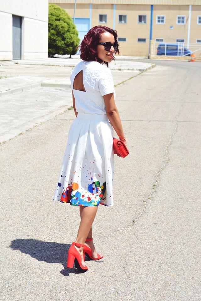 Look falda midi 5