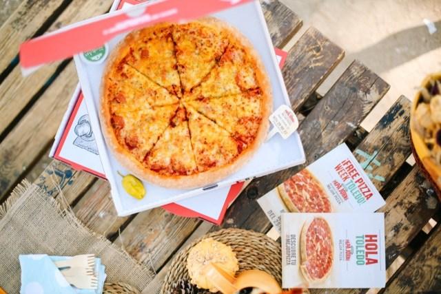 Picnic otoñal con Pizza Papa Jhons Toledo