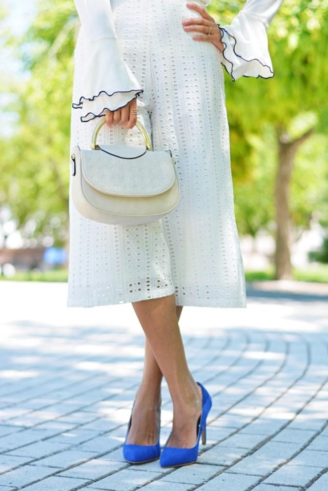 Zapatos stiletto azul klein