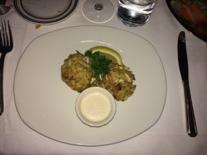 lump crab cakes. oh, baby!