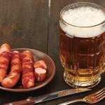 beer and sausage diet