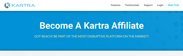Promoting the Kartra affiliate program as a Kartra JV is easy to do. Just send your link!