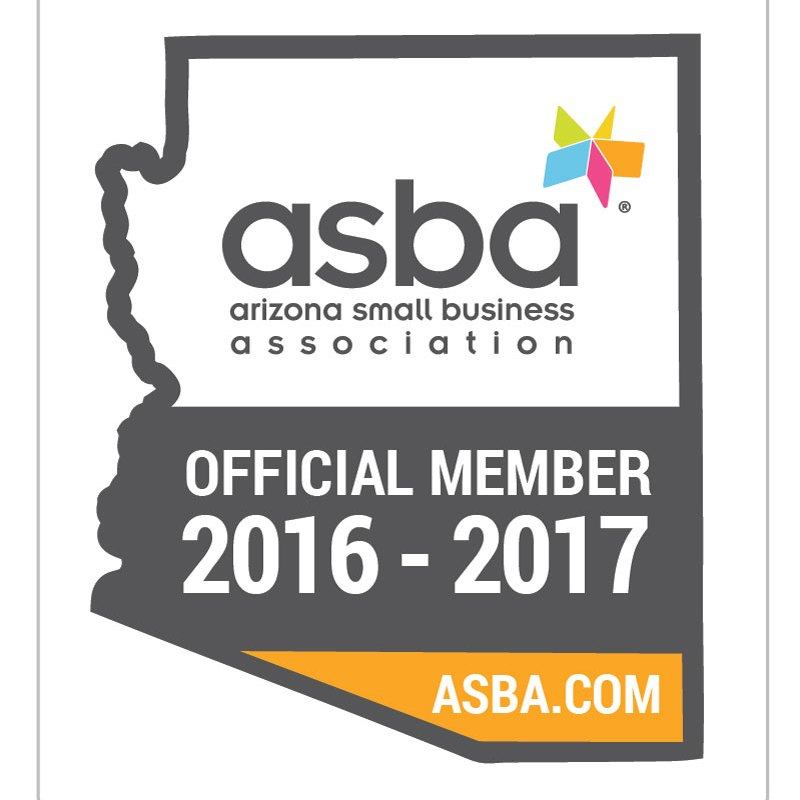 ASBA Official Member sticker