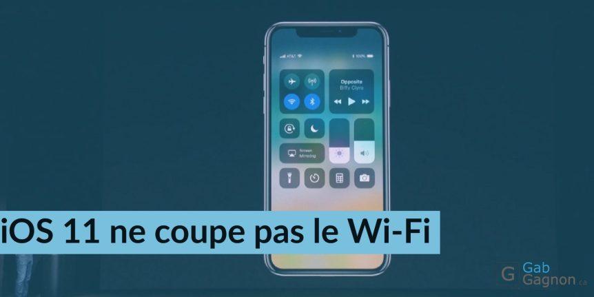 Control Center iOS 11