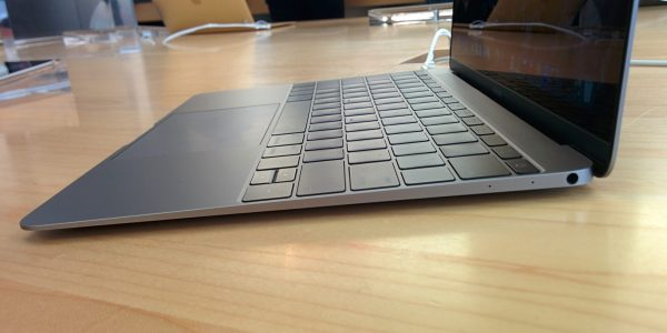 Le profil du nouveau Macbook