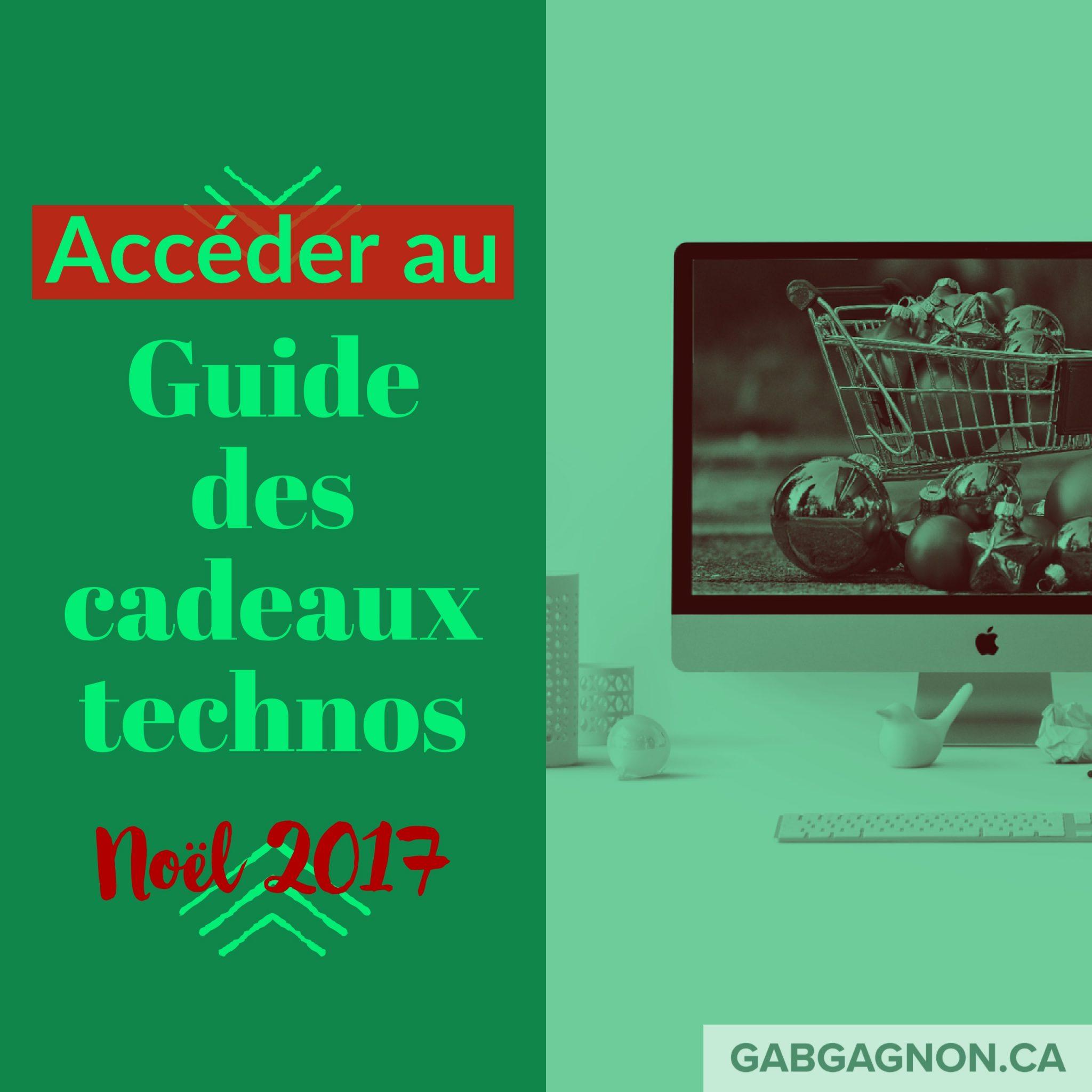 Guide Cadeaux Techno