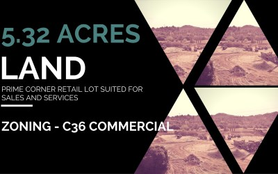 5.32 Acres of Commercial Land in Valley Center