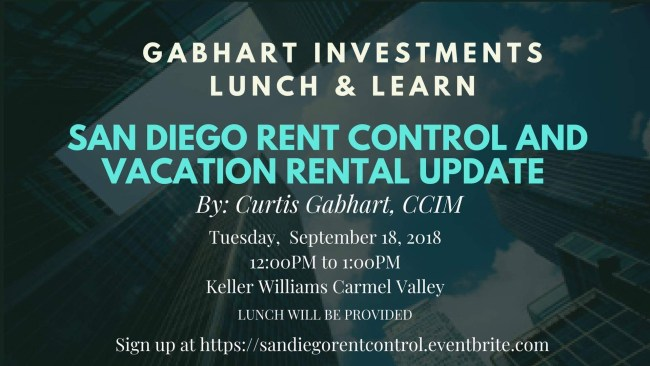 San Diego Rent Control Class Gabhart Investments