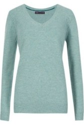 Womens-jumpers-sweaters-Pure-Lambswool-V-Neck-Jumper