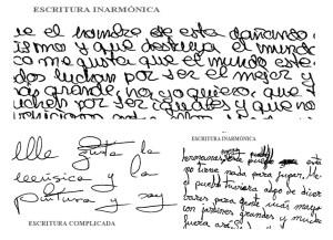 cuerpo de escritura para pericia caligráfica