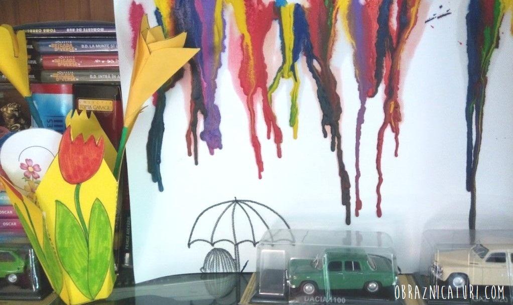 tablou din creioane